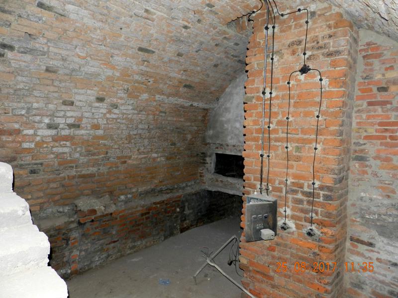 Zdjęcie prac remontowych w piwnicach