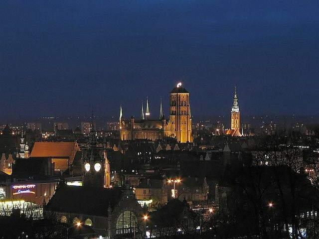 Zdjęcie przedstawiające panoramę Gdańska