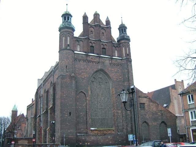 Zdjęcie kościoła św. Józefa przed remontem