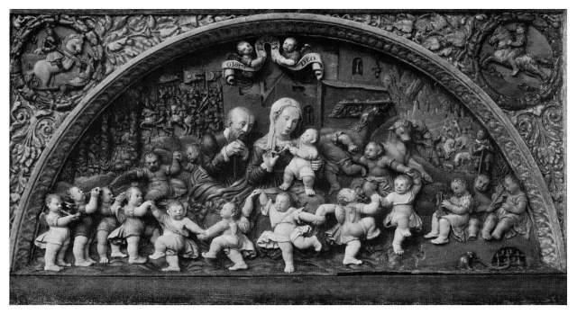 Archiwalne zdjęcie elementów dekorayjnych