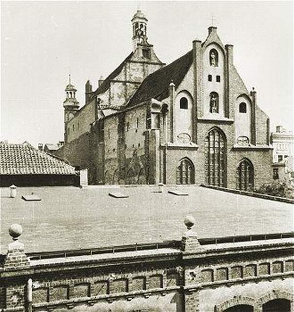 Archiwalne zdjęcie kościoła św. Józefa